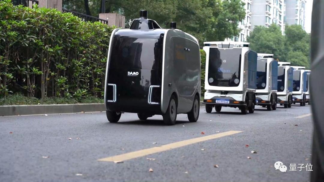 阿里宣布:今年浙大双11包裹,全部由机器人送货上门