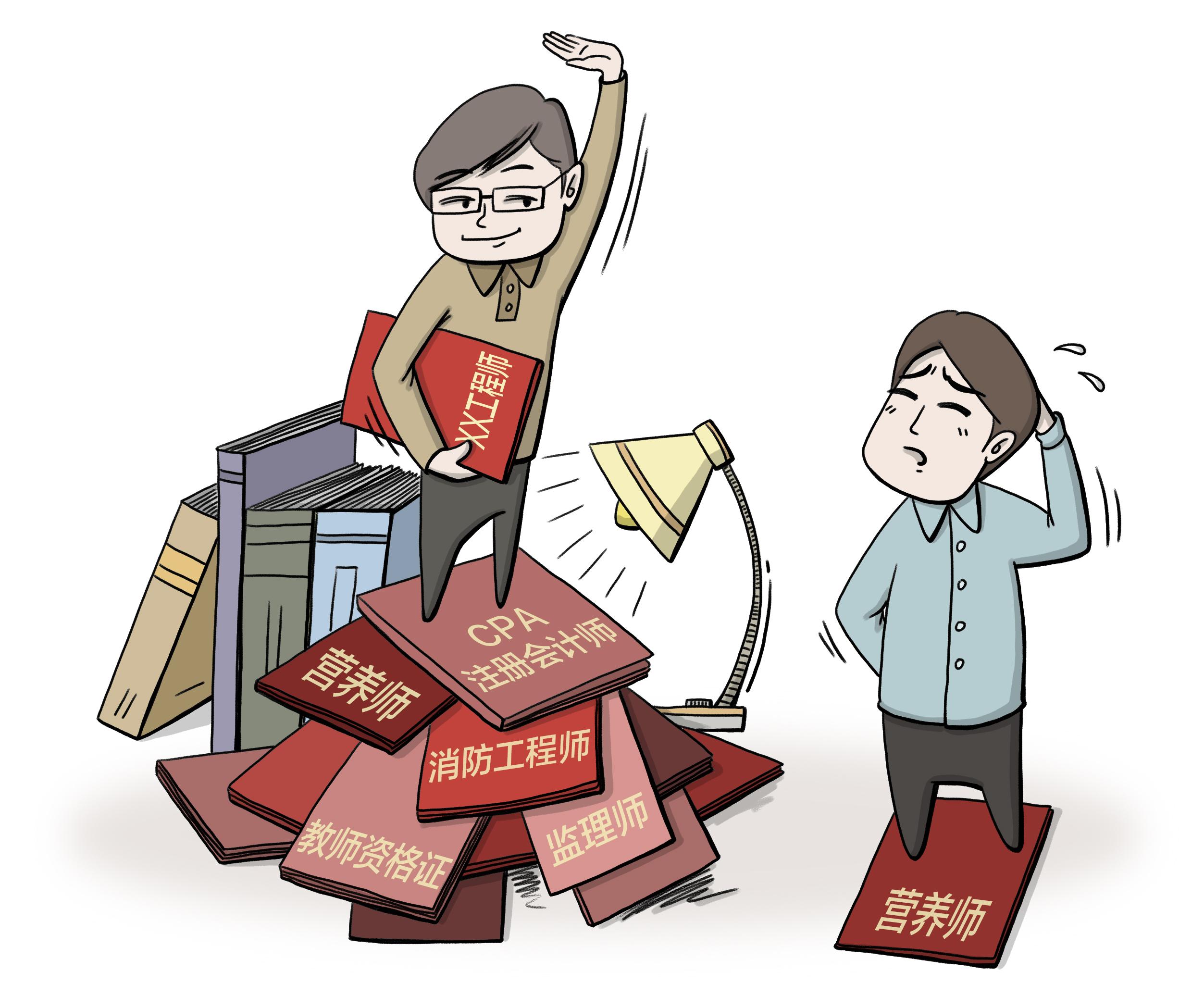 调查   多个证书等于多条出路?考证增强自信,但别盲从上当