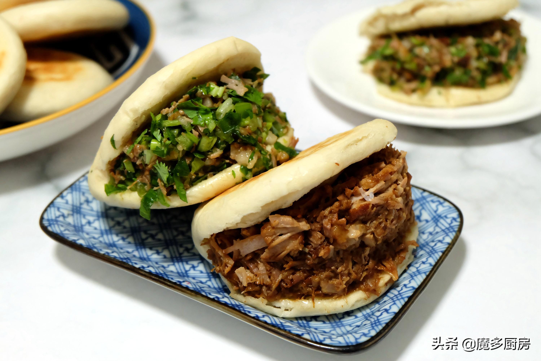 肉夹馍的家常做法,烙馍炖肉的手艺练好了,上街摆摊肯定受欢迎 美食做法 第12张