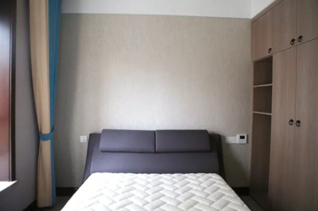 158平5卧室的装修案例,格局方正动静分离,色调百搭又高级