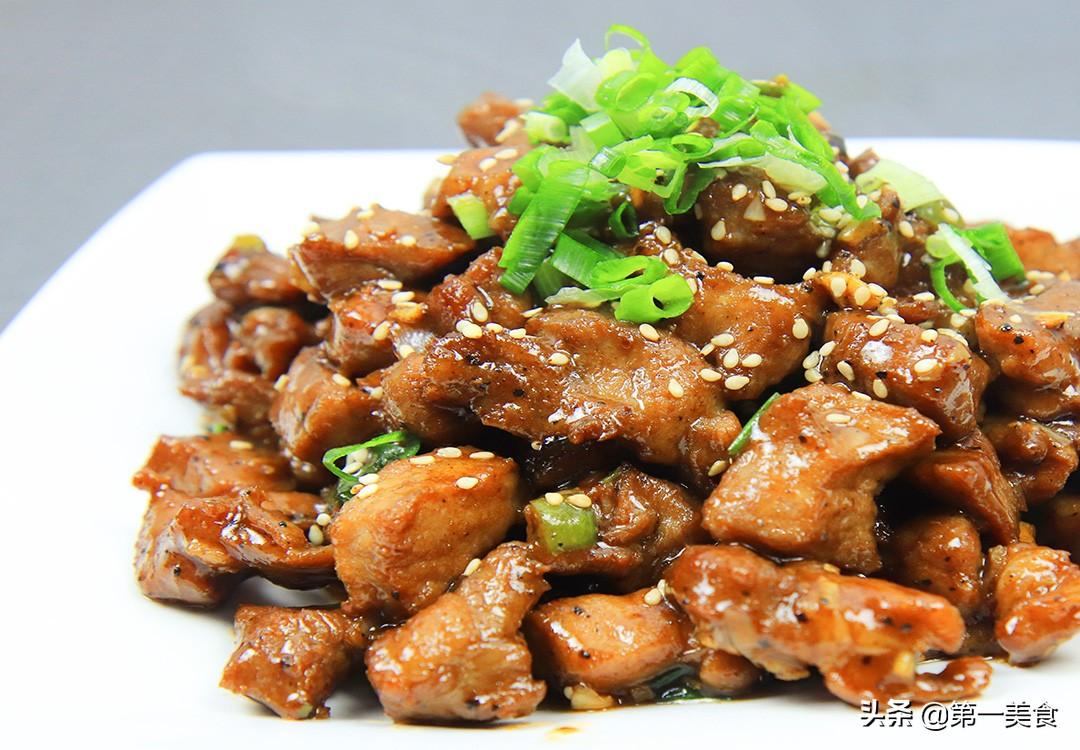 【黑椒猪肉粒】做法步骤图 外酥里嫩 口感比烧烤还要好吃