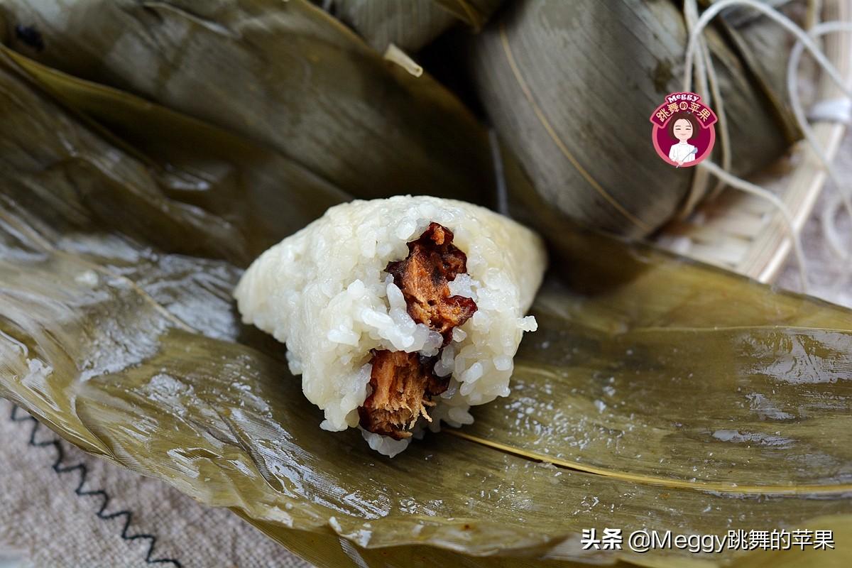 端午节吃粽子,教你3种甜粽子 美食做法 第3张