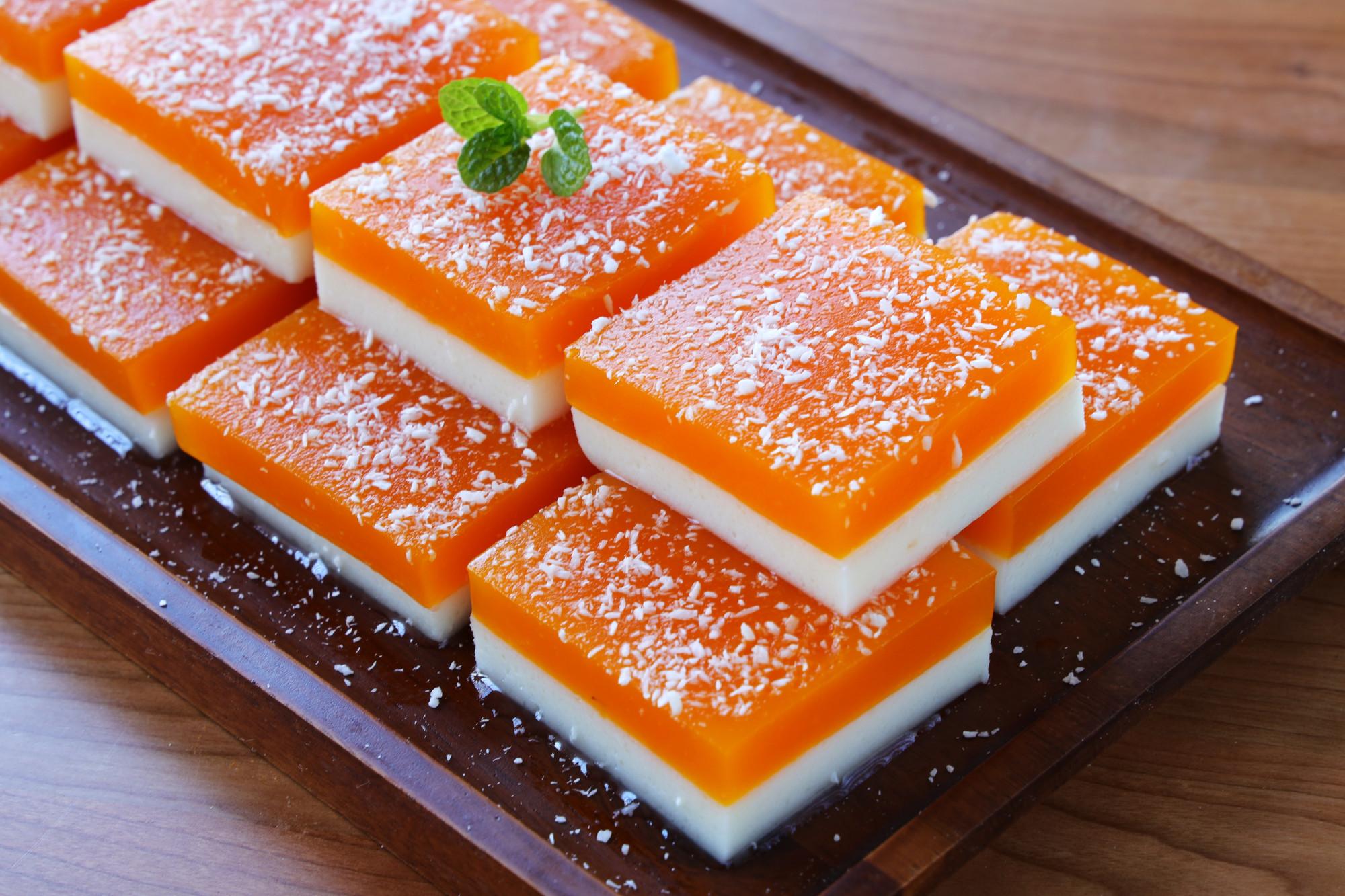 颜值超高的一道甜点,用南瓜和山药就能做,食材简单,做法0难度