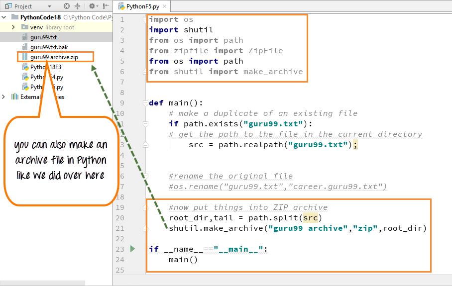 DAY5-step5 Python 示例说明 ZIP 压缩文件