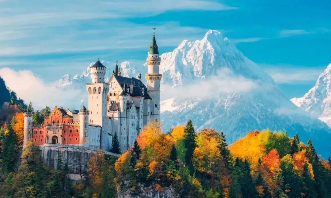 这9座德国城堡,带你走进童话世界