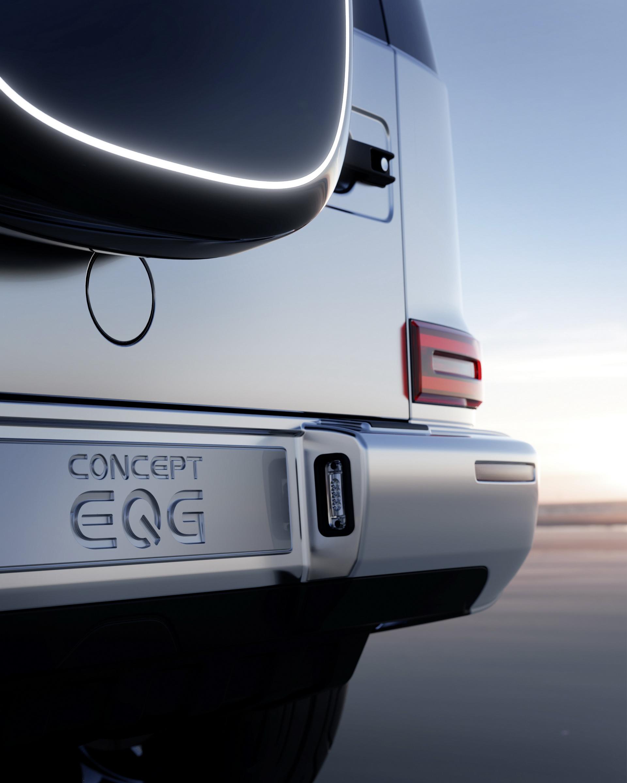 G级原汁原味的电动化,奔驰EQG概念车官图发布