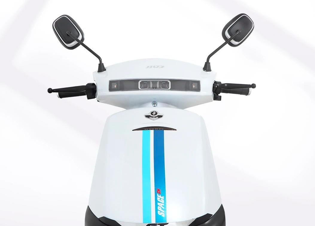 这款电动车骑行154公里,60V22.5AH电池,还剩2格电