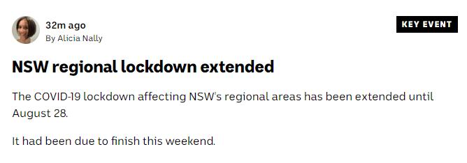 全澳爆发!新州确诊史上最高!维州也沦陷!这些地方封锁延长