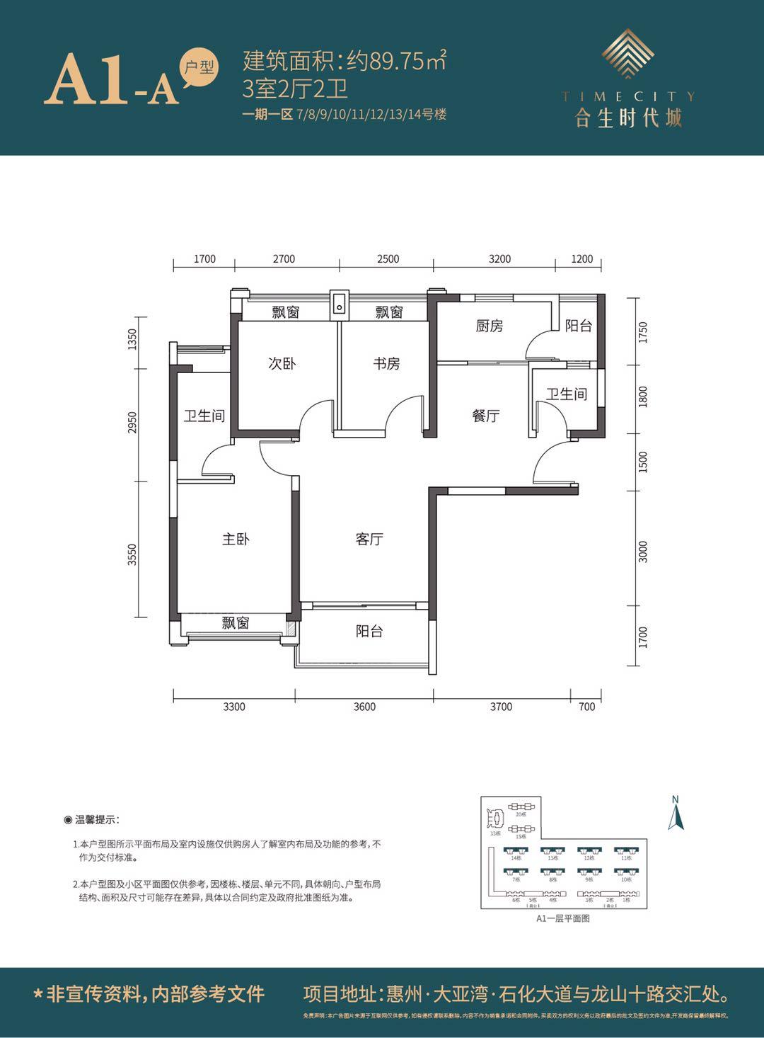 惠州大亚湾房价2020新楼盘价格:合生时代城项目数据曝光