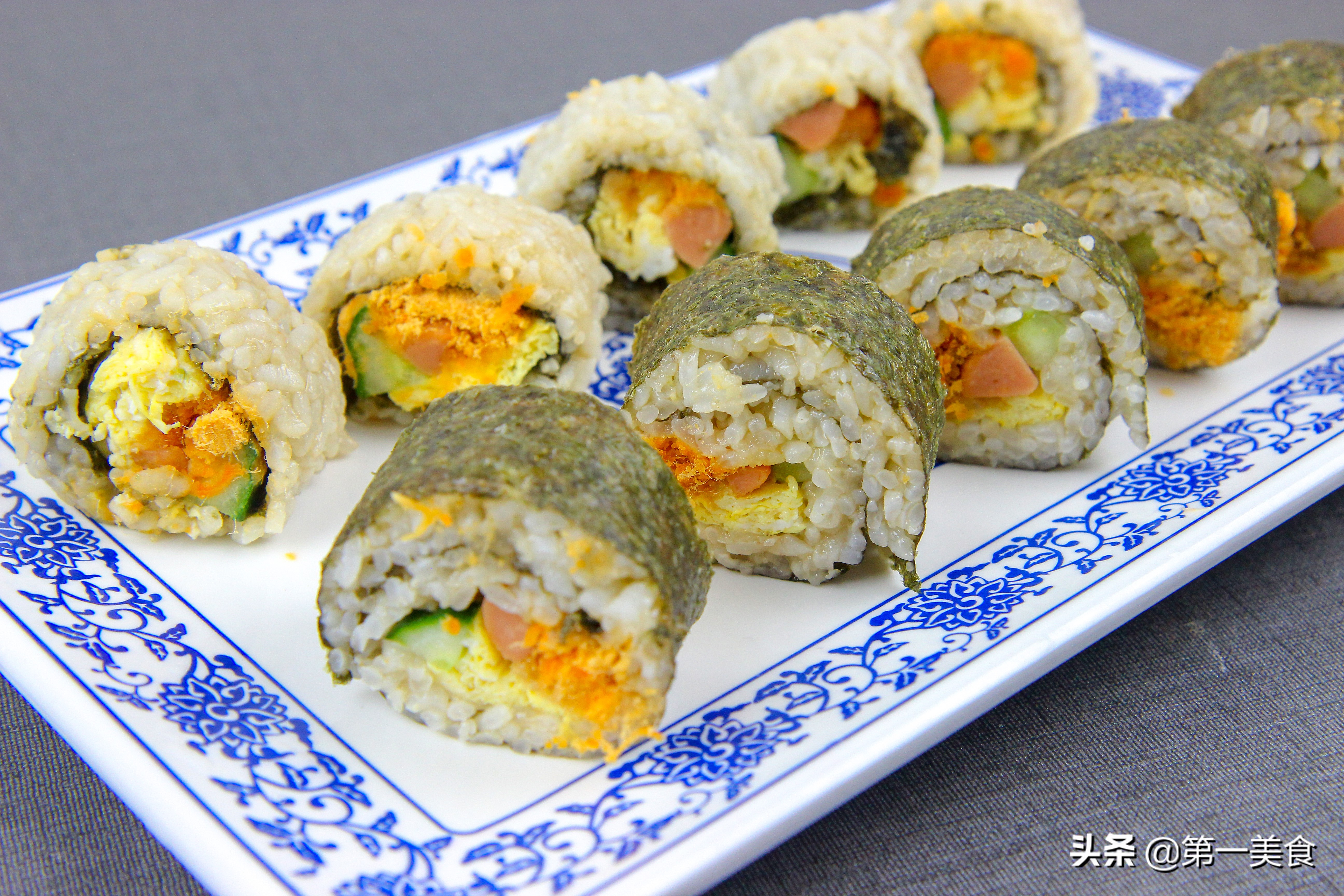 寿司不用再去外面买了 教你在家轻松做 营养美味 还干净省钱
