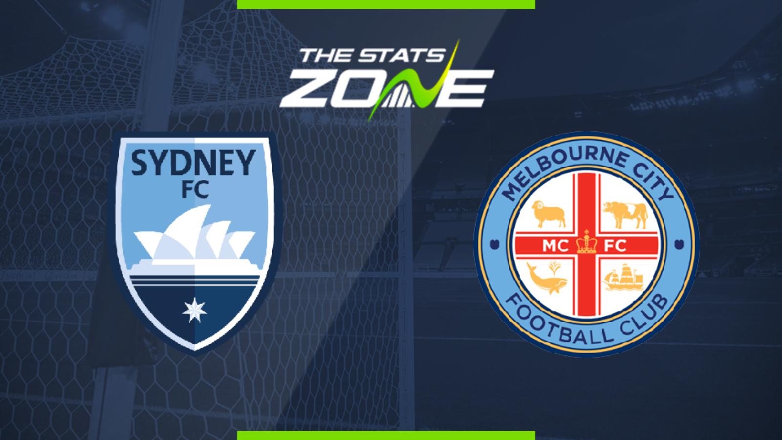 「澳洲甲附」赛事前瞻:悉尼FCvs墨尔本城,悉尼FC更胜一筹