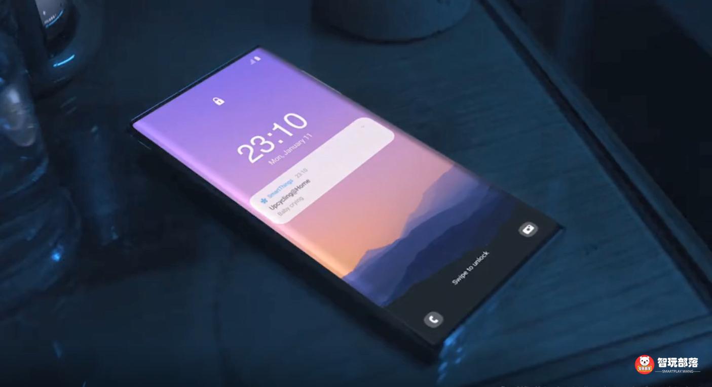 三星官方视频曝光Note21U!屏下摄像头+无挖孔的真全面屏