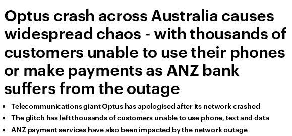网络崩溃致用户无法电子转账,电信巨头澳都斯向民众道歉