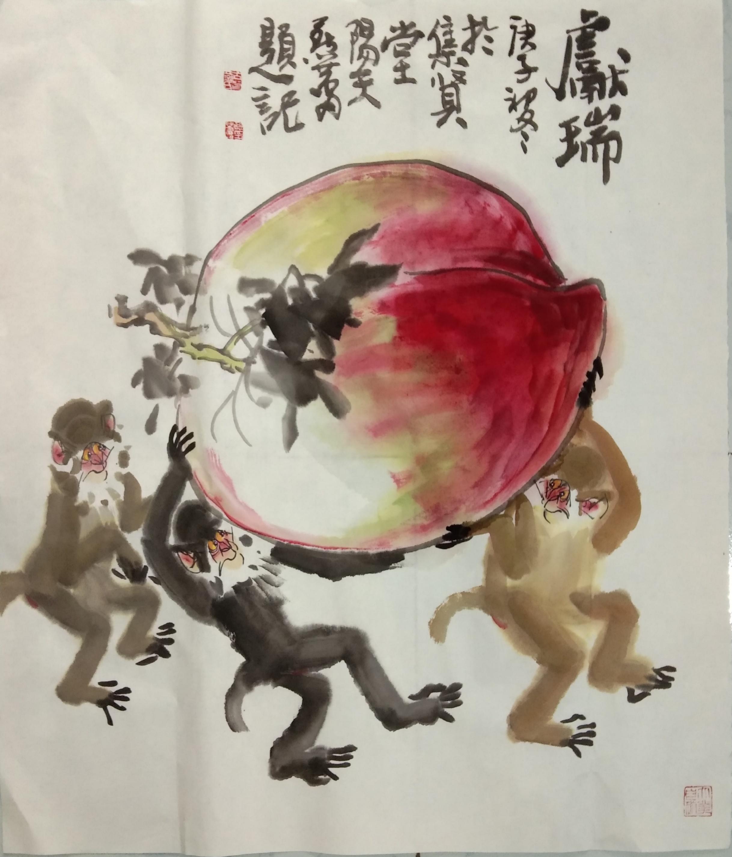 槐香斋书画院副院长燕蕾老师