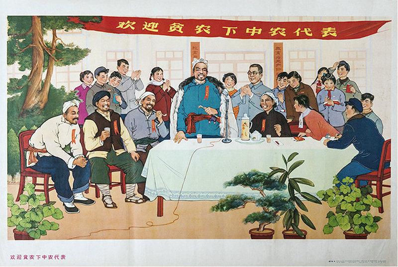 六十年代农村合作社年画欣赏,张张精品,欢迎收藏