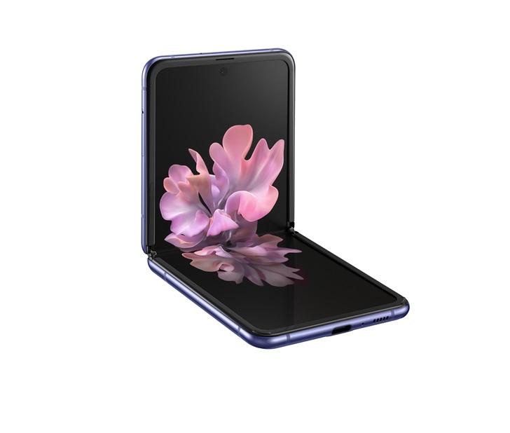 三星折叠屏手机上Galaxy Z Flip公布:可弯折纤薄夹层玻璃,1380美金