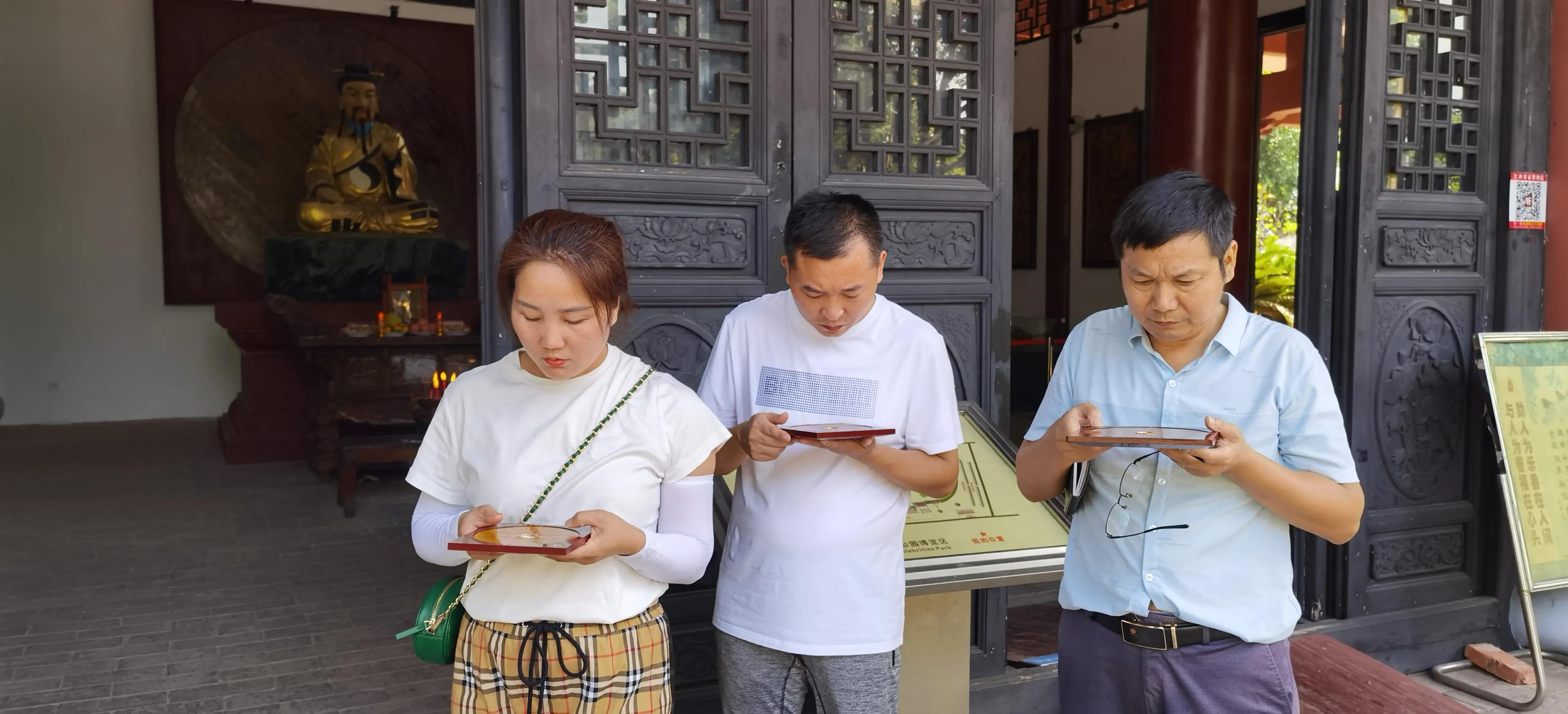 国庆长假 一批易友前来江西赣州古城游学  满载而归