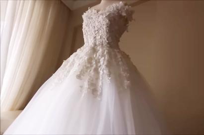 新娘婚纱教程