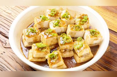 蒸豆腐夹肉馅的做法大全